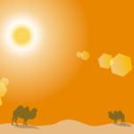 色のイメージイラスト(オレンジ)