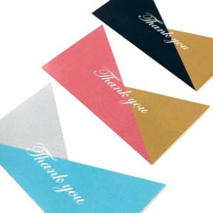 サンキューメッセージカードの画像