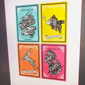 販売予定のポストカードデザイン